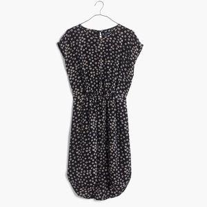 Madewell Silk Stencil Dress